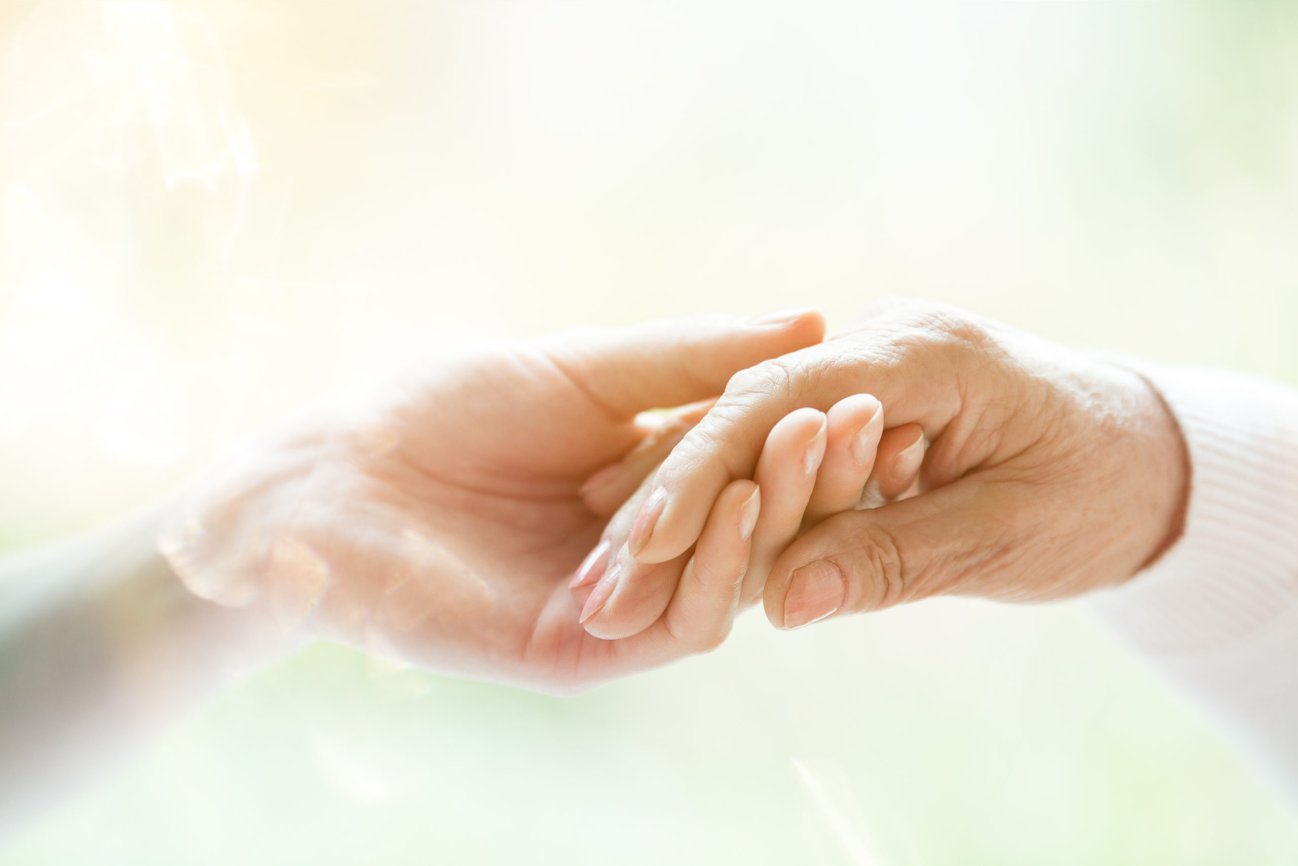 Care hands